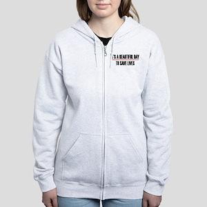 Grey's Anatomy It's A Beautiful Women's Zip Hoodie