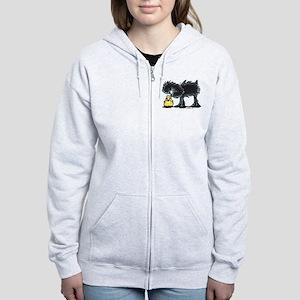 Affen n' Chick Women's Zip Hoodie