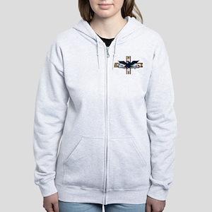 American Independent Logo Women's Zip Hoodie