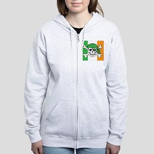 Irish Pirate Women's Zip Hoodie