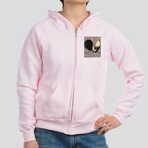 Grey Gamecock Women's Zip Hoodie