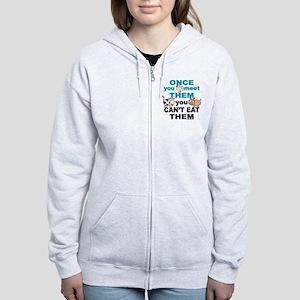 Animal Compassion Women's Zip Hoodie