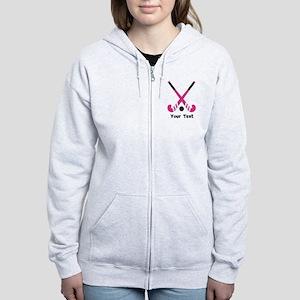 Personalized Field Hockey Women's Zip Hoodie