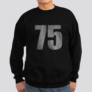Stonewashed 75th Birthday Sweatshirt (dark)