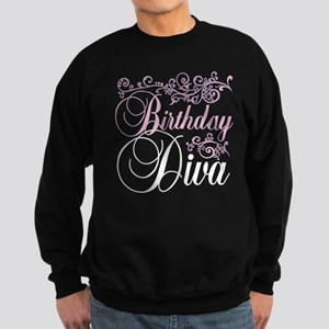 Birthday Diva Sweatshirt (dark)