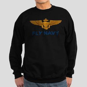 Naval Aviator Wings Fly Navy Sweatshirt