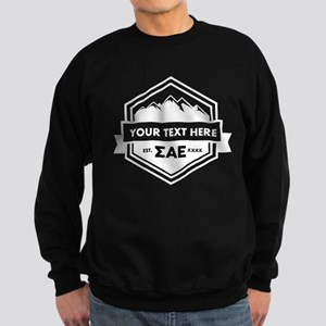Sigma Alpha Epsilon Mountain Rib Sweatshirt (dark)