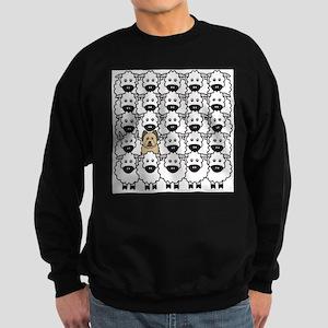 Briard in the Sheep Sweatshirt
