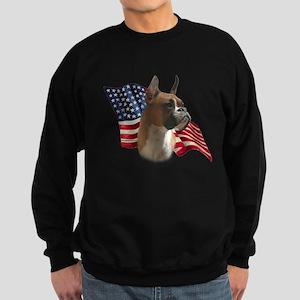 Boxer Flag Sweatshirt