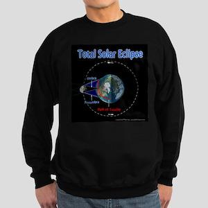 Total Solar Eclipse - 1, Sweatshirt (dark)