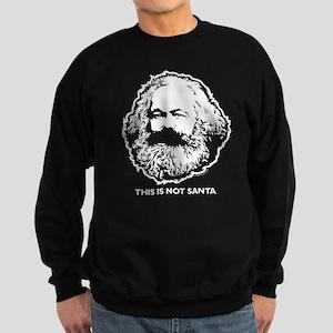 Marx Not Santa Sweatshirt (dark)