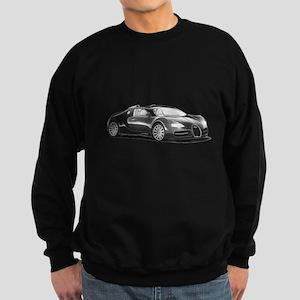 Bugatti Veyron, Sweatshirt (dark)