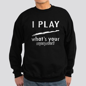 Cool Flute Designs Sweatshirt (dark)