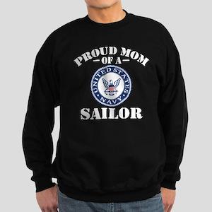 Proud Mom Of A US Navy Sweatshirt