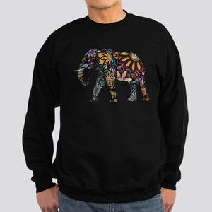 Colorful Elephant Sweatshirt