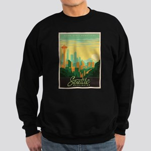 Vintage poster - Seattle Sweatshirt