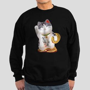 Lucky Cat Sweatshirt (dark)