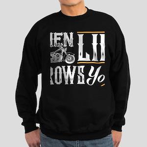 lean into it Sweatshirt (dark)