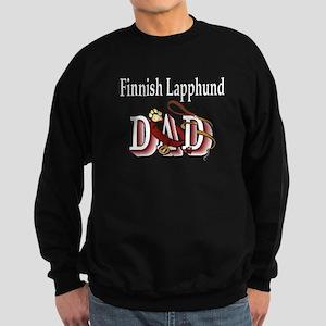 Finnish Lapphund Dad Sweatshirt (dark)