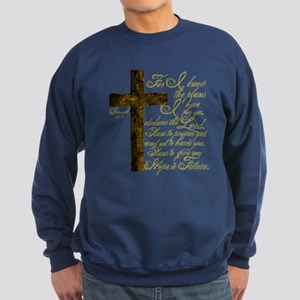 Plan of God Jeremiah 29:11 Sweatshirt (dark)