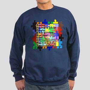 autism aspergers Sweatshirt (dark)