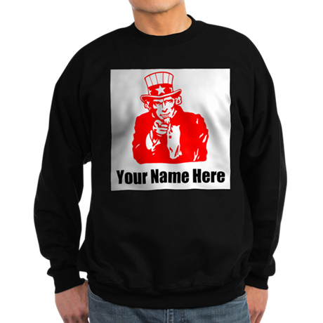 Your Name Here Veteran Sweatshirt