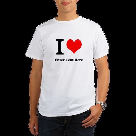I love... Organic Men's T-Shirt
