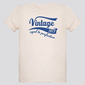 6bae053cd Kids Organic T-Shirts. Vintage 1973 aged to perfection birthday design T-