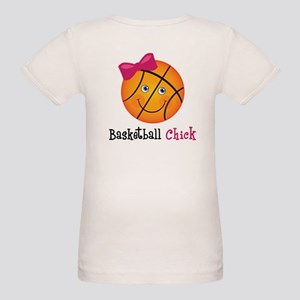 Basketball Chick Organic Baby T-Shirt