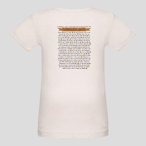Gilmore Girls Life Lessons Organic Baby T-Shirt