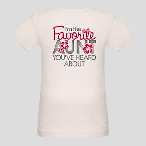 Favorite Aunt Organic Baby T-Shirt