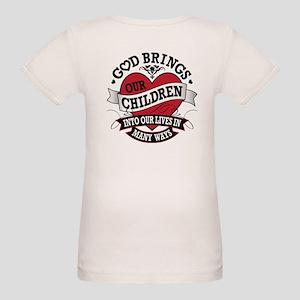 Adoption Tattoo Organic Baby T-Shirt
