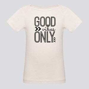 Good Vibes Only Organic Baby T-Shirt