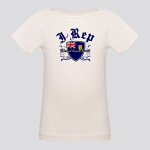 I Rep Turk and Caicos Island Organic Baby T-Shirt