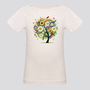 summer tree Organic Baby T-Shirt