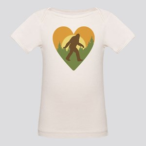 Bigfoot Love Organic Baby T-Shirt