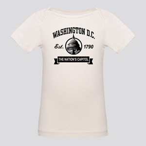979601434871 District Of Columbia Dc Organic Baby T-Shirts - CafePress