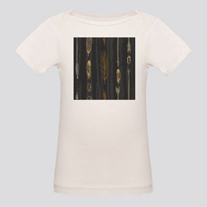 Arrow Feathers Organic Baby T-Shirt