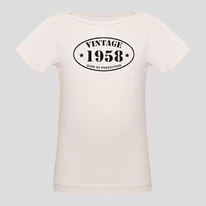 cf35f2ca Vintage 1958 Organic Baby T-Shirts - CafePress