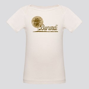 Palm Tree Burundi Organic Baby T-Shirt