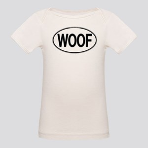 WOOF Oval Organic Baby T-Shirt