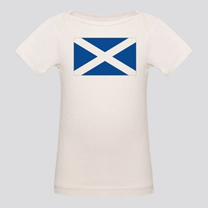511d87691 Saltire Flag Organic Baby T-Shirts - CafePress