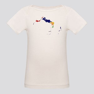Turks And Caicos Islands Flag And Map Organic Baby