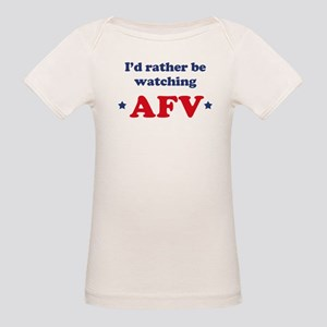 Id rather be watching AFV Organic Baby T-Shirt
