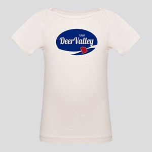 Deer Valley Ski Resort Utah oval T-Shirt
