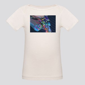 Super Crayon Colored Dirt Bike Careening D T-Shirt