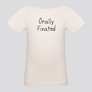 Orally Fixated Organic Baby T-Shirt
