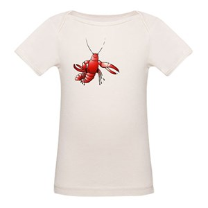 14087f0a23 Louisiana Crawfish Organic Baby T-Shirts - CafePress