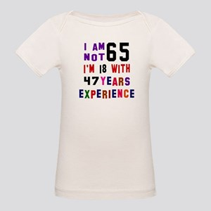 84e641f38 65th Birthday Organic Baby T-Shirts - CafePress