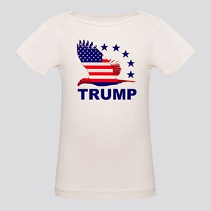 Trump For America Organic Baby T-Shirt